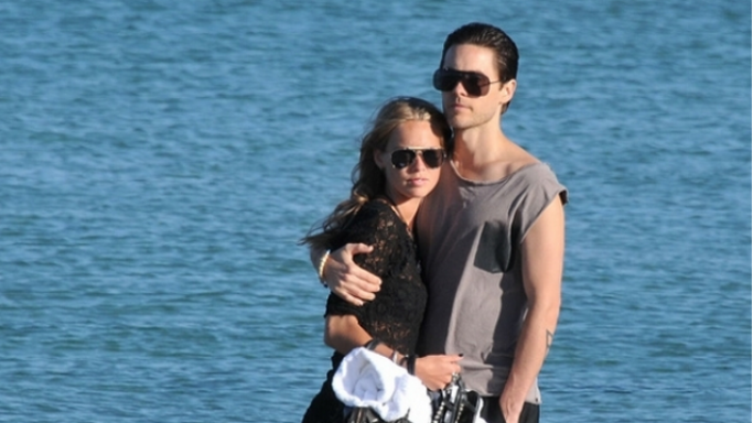 Jared Leto, a successful musician and actor, was seen relaxing and holidaying in St.Tropez.