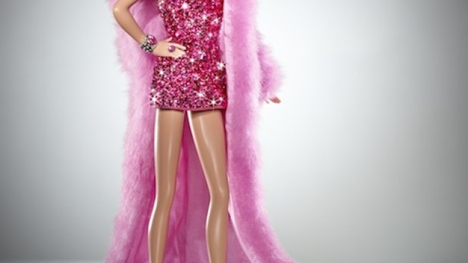 $15,000 Pink Diamond Barbie Doll by The Blonds