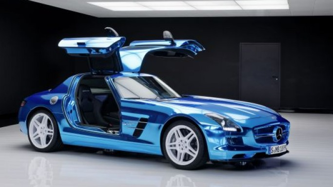 Emission-free Mercedes-Benz SLS AMG Electric Drive to sell for $538,625