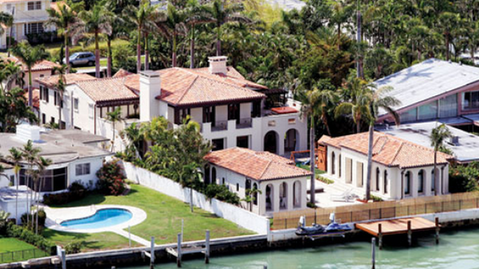 Matt Damon house in Miami, Florida