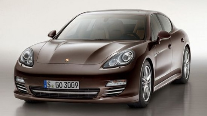 Porsche Panamera Platinum Edition to go on sale in 2013