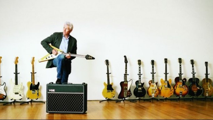 Richard Gere Guitar Collection