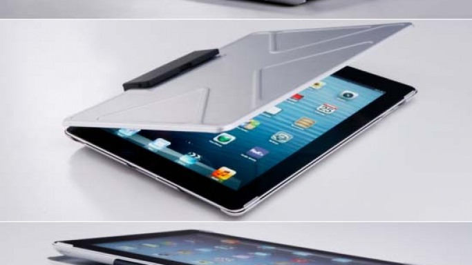 Lightweight Aluminum 'Tank Case' by Andrea Ponti provides ultra-protection to your iPad