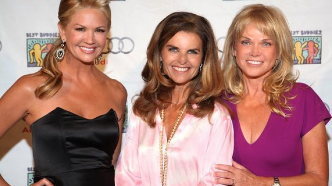 Maria Shriver supports TEAM MARIA Best Buddies program
