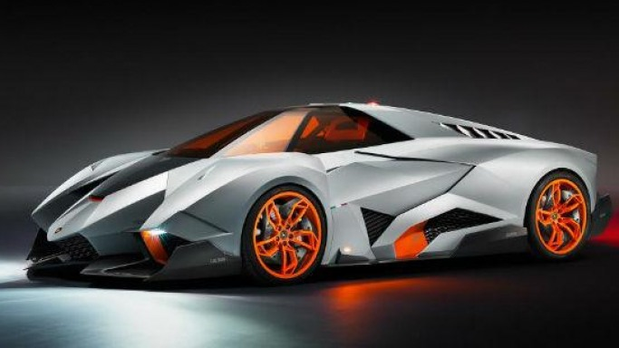 Lamborghini's 50th anniversary special Egoista Concept is a single seater powerhouse