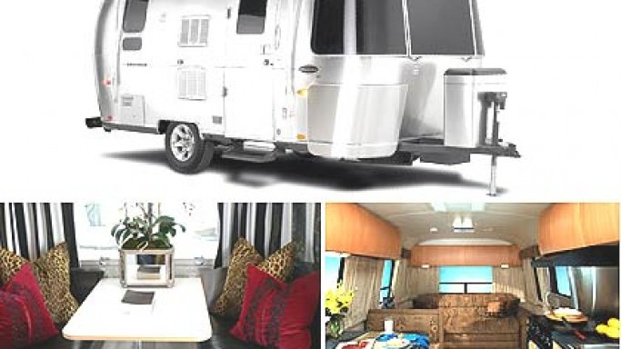 Airstream New BaseCamp Luxury Van