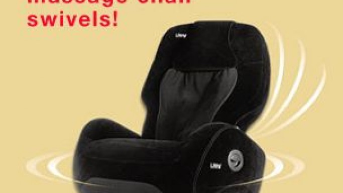 All-New Swiveling iJoy Robotic Massage Chair