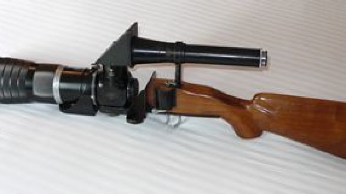 Vintage Leica Rifle Camera For Auction