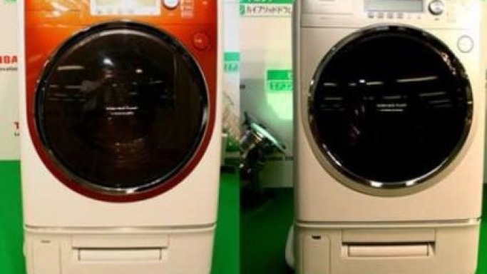 Toshiba TW-3000VE Washing Machine even cools you!