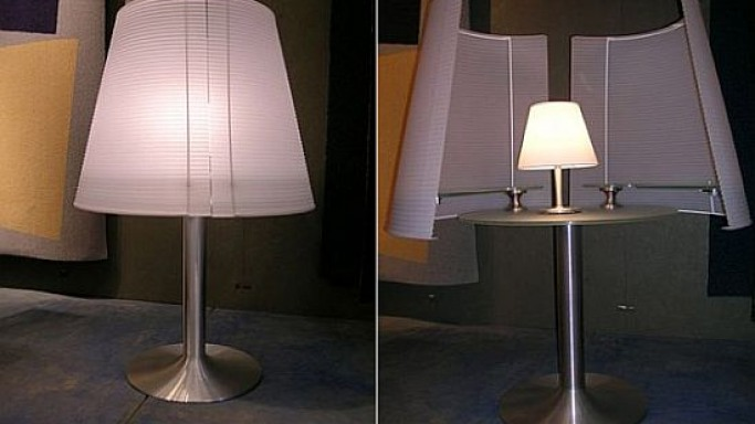 Transforming Lamp Hides a Table
