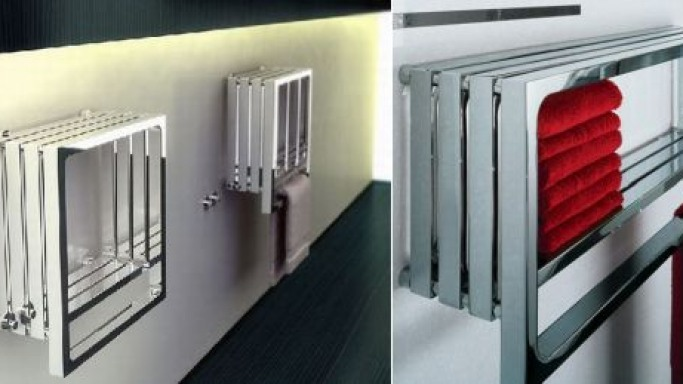 Stay warm with the cool, contemporary Monte Carlo radiator