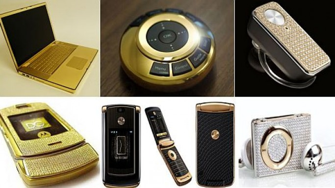 Most hyped gold & diamond studded gadgets of 2007
