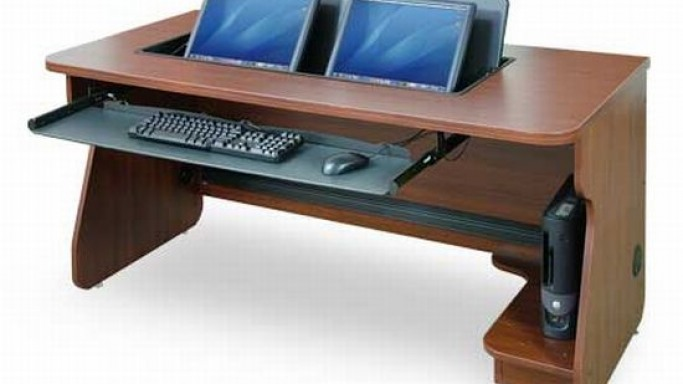 Multi Monitor Desk System with the flipIT advantage