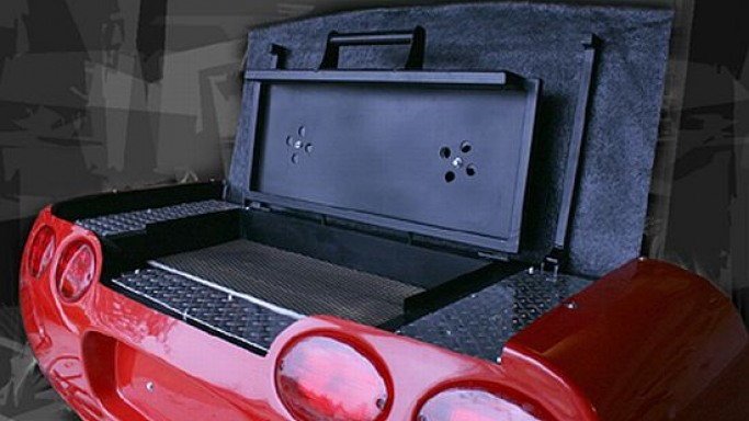 BBQ VETTE: Hand-crafted Barbeque grill for car crazy people!