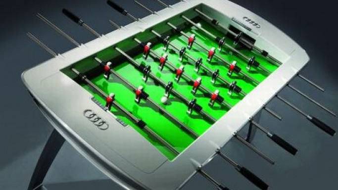 Foosball Table gets an Audi Design twist
