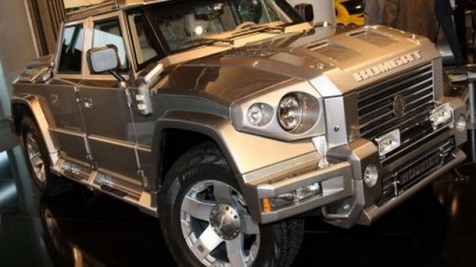 Russian-made Dartz Kombat T98 luxury SUV is grenade-proof