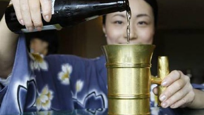 Gold beer mug for $50,000, that's a high in itself!
