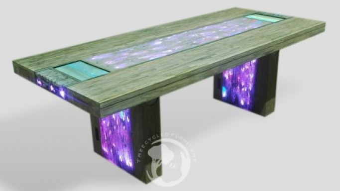 Stardust Multimedia Table with dual-touchscreen