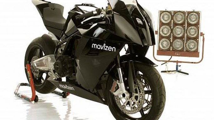 Mavizen's TTX02 electric motorcycle with built-in web server is meant for Silicon Valley