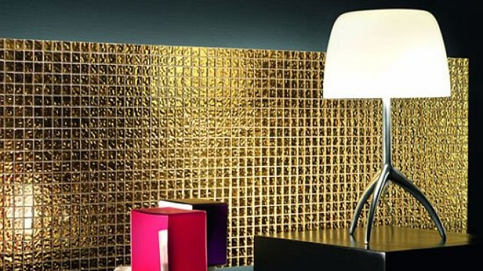 Doro collection adds strong visual impact with 24-carat gold tiles