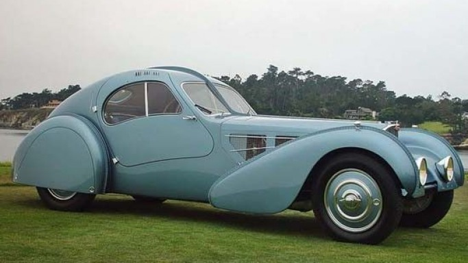Rare 1936 Bugatti Atlantic sets record in automobile auction