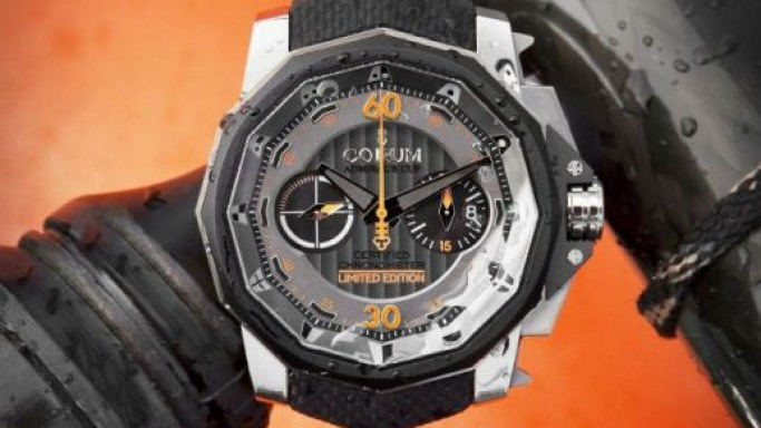 Corum unveils water-resistant Admiral's Cup Grand Prix watch