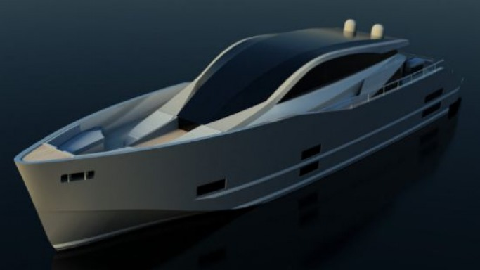 Flaming Ice luxury yacht concept from Pama Architetti Yacht Design