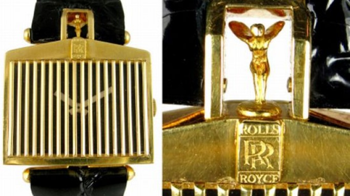 Corum Rolls-Royce Grill watch from the '70s up for grabs