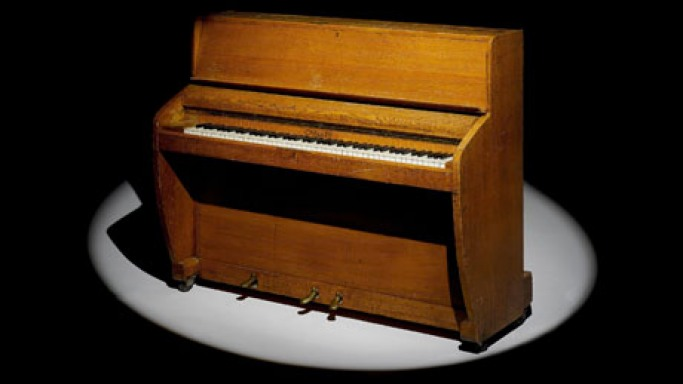Beatles piano goes up for sale