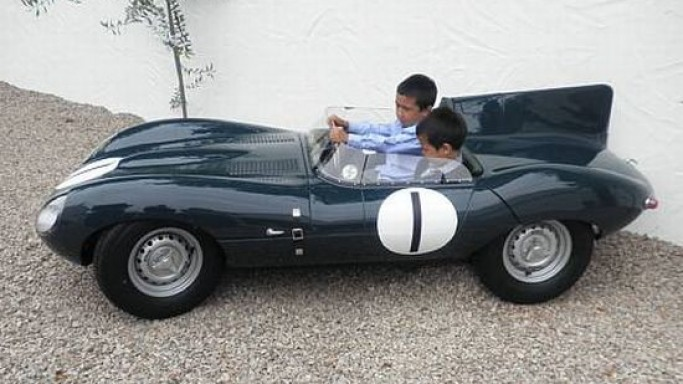 The Goodwood Revival: Bonhams to sell D-Type Jaguar Children's Car