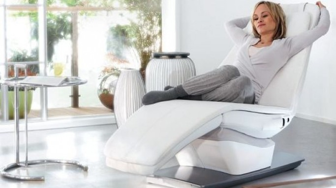 Panasonic's Relax Chair yasumi lulls you softly to sleep