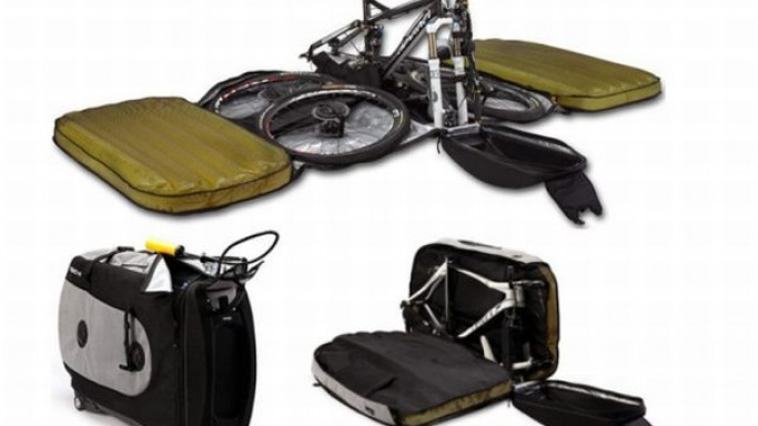 BIKND Helium Bike Case with air protection for globetrotters