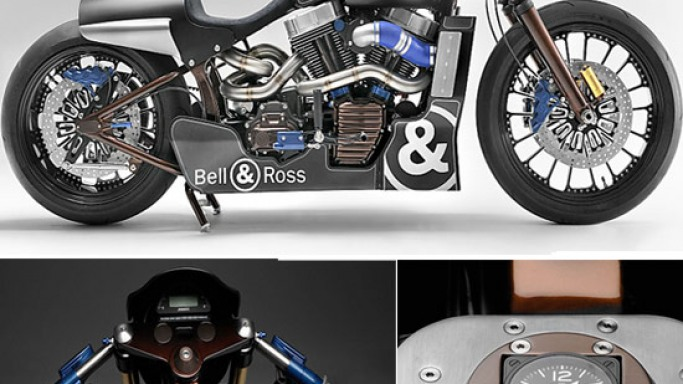 Harley-Davidson teams up with Bell & Ross for a one-off custom bike