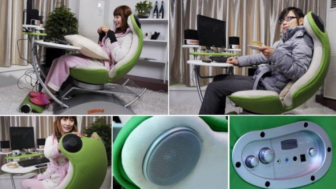 FROG4.0 One-Piece chair promises a playful PC experience