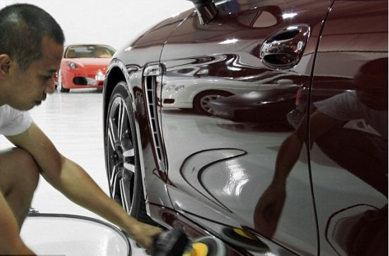 World's most expensive car wash uses nano-technology and goes on for a week!