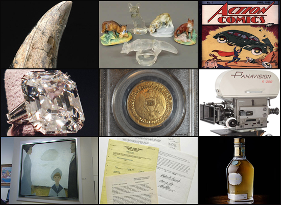 Most expensive unconventional auctions of 2011