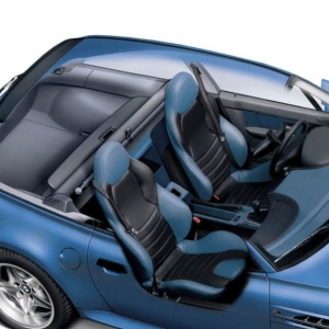 BMW M Coupe Interior