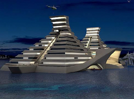 Floating Pyramids – New Dimension in Luxury Living