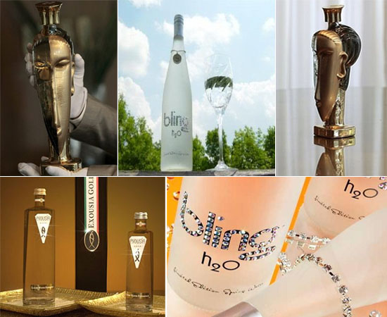 World's most expensive water bottles